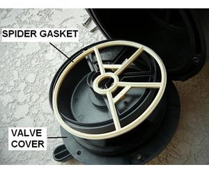 spider gasket for pool filter