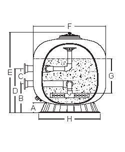 Emaux NL Filter diagram